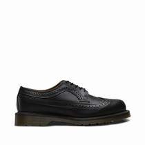 Dr Martens 3989 Smooth - Férfi Oxford Cipő Fekete (WEXZQJEO)